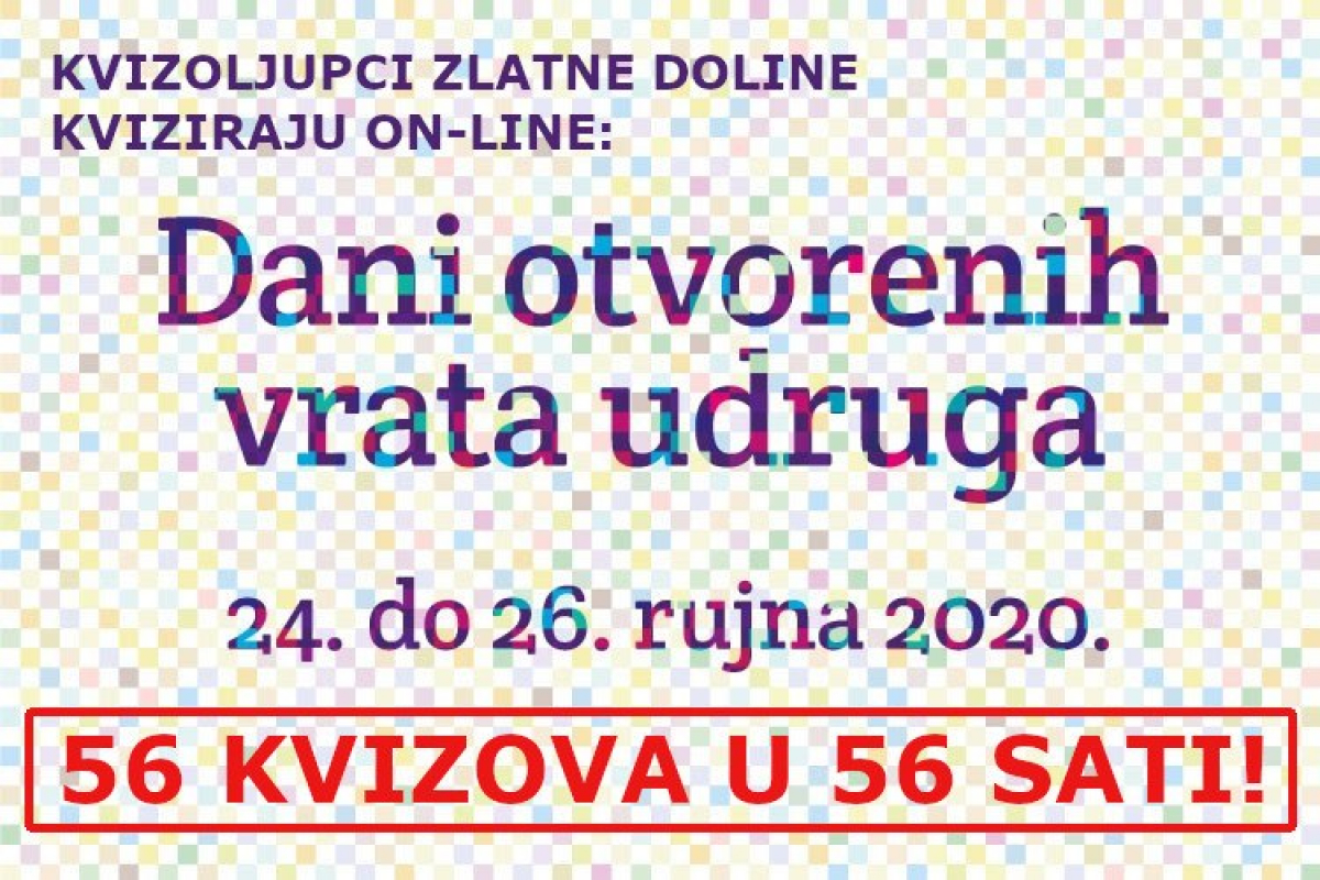 Od 24. do 26. rujna zaigrajte on-line kvizove